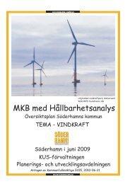 ÖP MKB Tema Vindkraft antagen KF 2010-06-21.pdf - Söderhamns ...