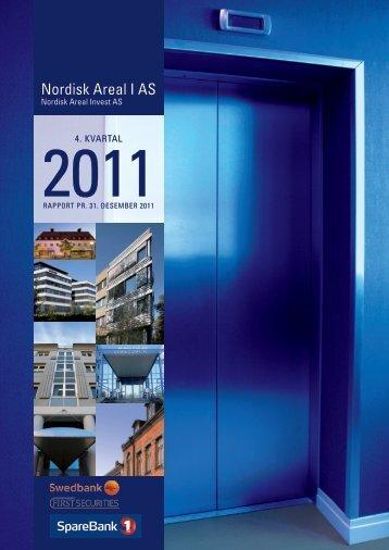 Rapport pr. 31. desember 2011 - Swedbank