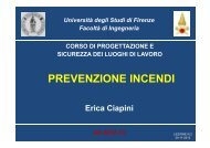 PSLL VVF Lezione n.2.pdf - Università degli Studi di Firenze