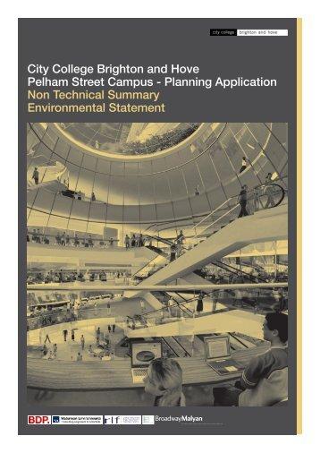 Brighton City College, Brighton NTS.pdf - Institute of Environmental ...