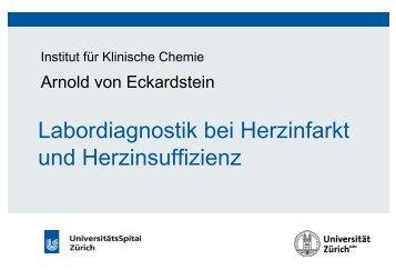 Kardiale Biomarker - Institut für Klinische Chemie