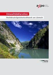 Umweltdeklaration - Axpo