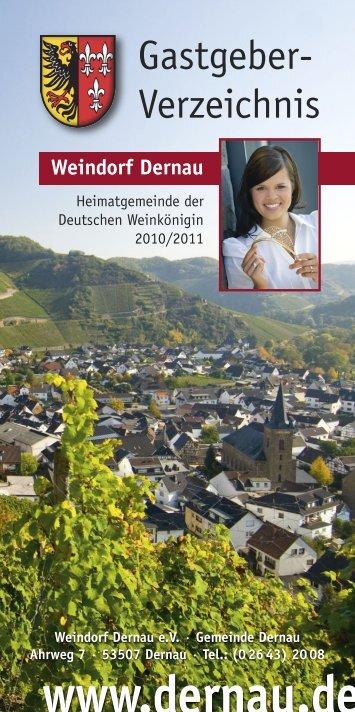 Ferienwohnung - Dernau