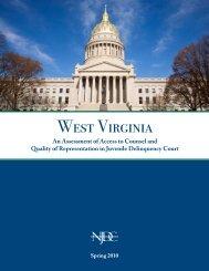 West Virginia - National Juvenile Defender Center