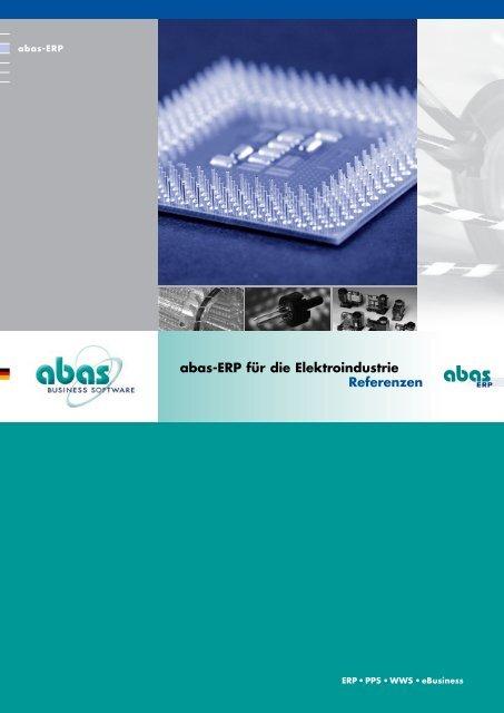 abas-ERP in der Elektro - ABAS Projektierung