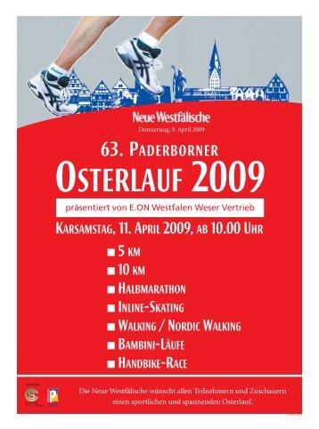 63. PADERBORNER - Paderborner Osterlauf