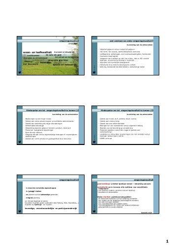 Presentatie Workshop 1 - Meetjesland.be