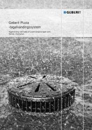 PLUVIA teknisk DK - Geberit