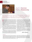 Truth in Doctrine Truth in Relationship - Spirit & Truth Fellowship ... - Page 2