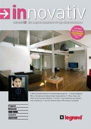März 2009 Der Legrand Newsletter für den Elektrofachmann