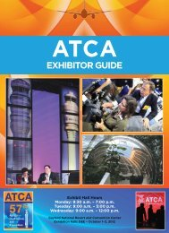 EXHIBITOR GUIDE - Air Traffic Control Association