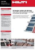 Alsidige løsninger til montage af solceller på skrå og flade tage. - Page 2