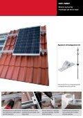 Alsidige løsninger til montage af solceller på skrå og flade tage. - Page 3