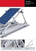 Alsidige løsninger til montage af solceller på skrå og flade tage. - Page 5