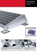 Alsidige løsninger til montage af solceller på skrå og flade tage. - Page 7