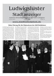 März - Stadt Ludwigslust