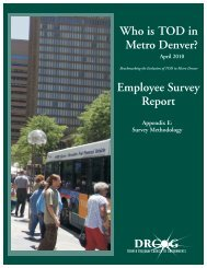 Who is TOD Employee Survey.cdr - Transit-Oriented Development