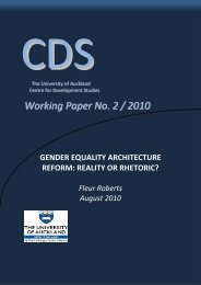 Gender Equality Architecture Reform: Reality or Rhetoric?