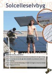 Solcelleselvbyg - Nordvestjysk Folkecenter for Vedvarende Energi