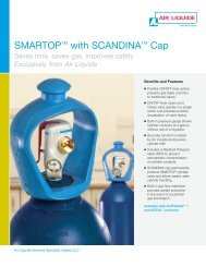 SMARTOP™ with SCANDINA™ Cap - Air Liquide America Specialty ...