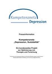 """MedNet """"Depression, Suizidalität - Staatliche Schulberatung in Bayern"""