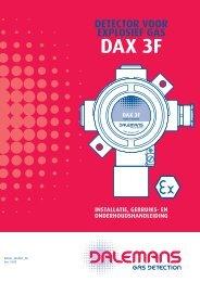 Détecteur DAX 3F - Dalemans Gas Detection