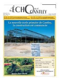 La nouvelle école primaire de Cantley, la construction est commencée