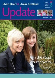On the road to recovery - Chest Heart & Stroke Scotland