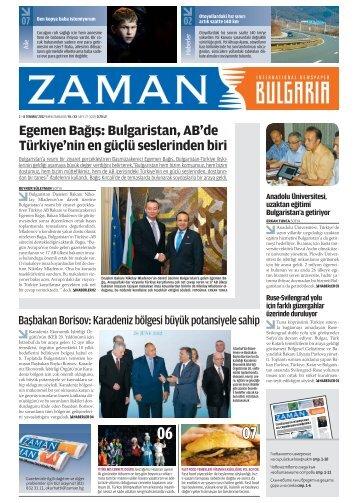 Sayı 27: 2 – 8 Temmuz 2012 - Zaman Bulgaristan