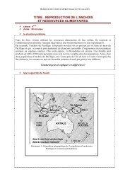 titre : reproduction de l'anchois et ressources alimentaires.