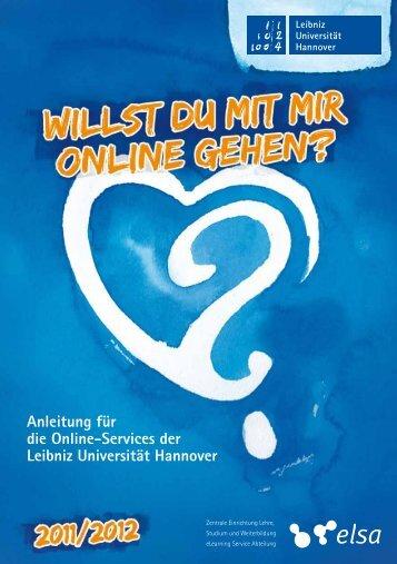 Anleitung für die Online-Services der Leibniz Universität Hannover