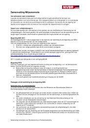 Samenvatting Miljoenennota - Brandweer Nederland