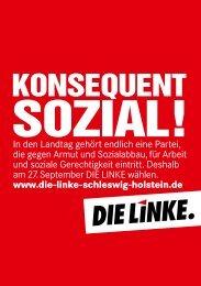 KONSEQUENT - DIE LINKE. Schleswig Holstein