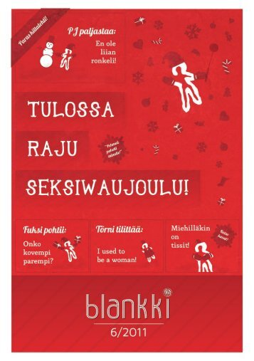Blankki 6/2011 (JouluBlankki) - Blanko ry