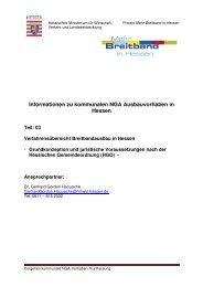 Verfahrensübersicht für Kommunen zum NGA-Breitbandausbau in ...