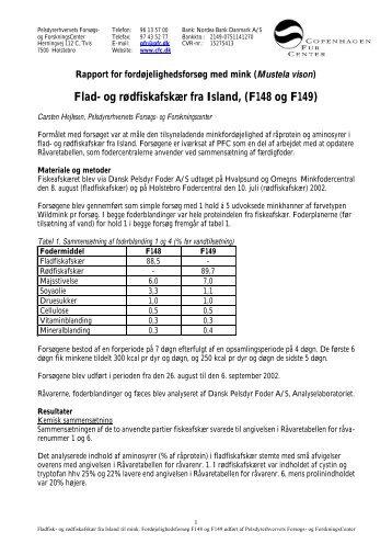 Flad- og rødfiskafskær fra Island, (F148 og F149)