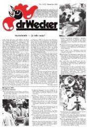 drWecker sternstunde — ja oder nein? - DigiBern