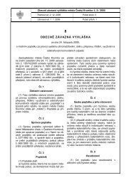 OBECNĚ ZÁVAZNÁ VYHLÁŠKA - Český Krumlov