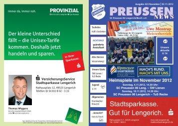 PREUSSEN - Jugend