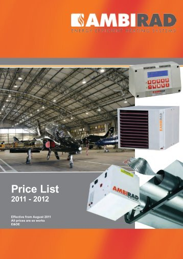 Price List - Ambirad