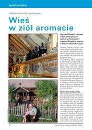 Wieś w ziół aromacie - (Twój Doradca Rolniczy Rynek-09/2012)