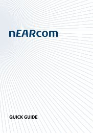 nEarcom Quick Guide (pdf)