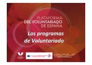 Los programas de Voluntariado - Máster en Gestión Cultural