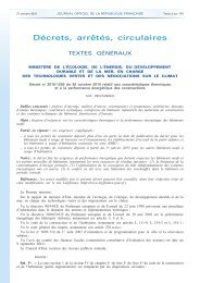 Journal officiel de la République française - N° 250 du ... - RT-batiment