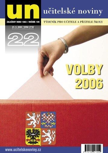 Volby 2006 - Učitelské noviny