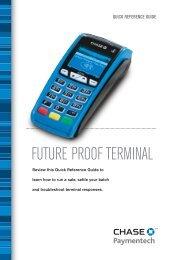 VeriFone VX520 & VX820 Credit Card Terminal Guide - Chase