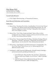 Priya Menon, Ph.D. - Troy University