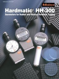 Hardmatic® HH-300 - Mitutoyo Scandinavia AB