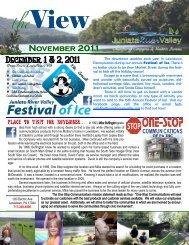 NOVEMBER 2011 - JuniataRiverValley.org