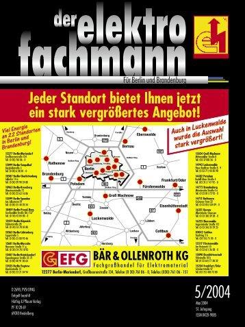 Ja - Elektro-Innung Berlin